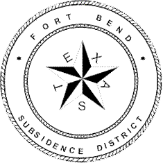 Fort Bend Subsidence District Seal